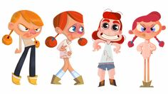 Le Blog de Sasha: AGROUH! Kid Character, Female Character Design, Character Design References, Character Drawing, Character Illustration, Character Concept, Book Illustration, Graffiti Characters, Cartoon Characters