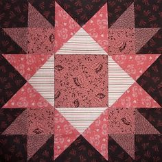 Kathy's Quilts: Saturday Sampler #25 Exploding Star