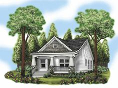 Eplans Craftsman House Plan - Impressive Inside - 966 Square Feet and 2 Bedrooms from Eplans - House Plan Code HWEPL66510