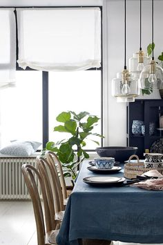 Ellos Home Pembroke-laskosverho 100% pellavaa - Vihreä - Koti & sisustus - Ellos.fi