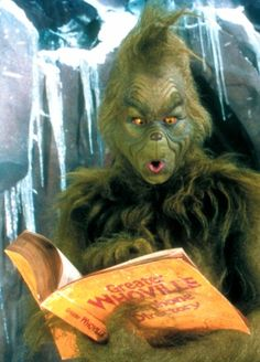 """How The Grinch Stole Christmas (2000). """"Hate, hate, hate, Double hate...LOATHE ENTIRELY!!!"""""""