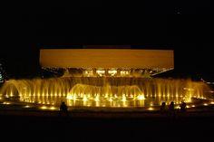 Cultural Center of the Philippines - Public Building in Metro Manila Philippine Architecture, Cultural Center, Manila, Philippines, Public, Culture, Building, Google Search, Night