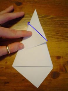 Betsy Ross' One Cut Five Point Star. Easy instructions!