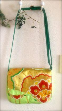 Kimono / Obi / Japan / GR454 Beautiful Flower by RummyHandmade, $70.00