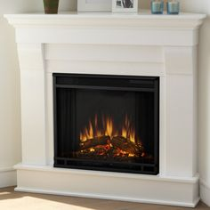 You'll love the Chateau Corner Electric Fireplace at Wayfair - Great Deals on all Home Improvement products with Free Shipping on most stuff, even the big stuff.