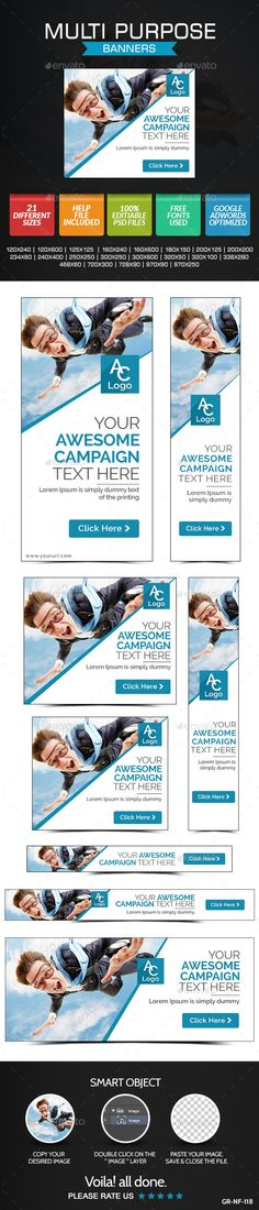 Multi Purpose Banners Template PSD | Buy and Download: http://graphicriver.net/item/multi-purpose-banners/9096632?WT.ac=category_thumb&WT.z_author=doto&ref=ksioks