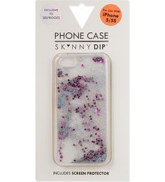 SKINNYDIP - Exclusive liquid glitter iPhone case | Selfridges.com