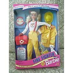 Firefighter Barbie!