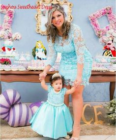Cheap dress up girls dresses, Buy Quality dress up santa claus directly from China dress knee high boots Suppliers: Light Sky Blue Lace Mother and Daughter Dress Family Mathing Cloth Long Sleeves Mom Daughter Dress Two 2 pieces Prom Dresses Mom Daughter Matching Outfits, Mommy And Me Outfits, Matching Family Outfits, Outfits Teenager Mädchen, Teen Girl Outfits, Mom Dress, Baby Dress, Teen Girl Shoes, Mother Daughter Fashion
