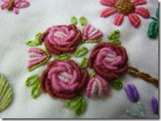 TUTORIAL(s): Bullion Stitch and Bullion Roses