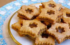Grain Free Coconut Date Linzer Cookie