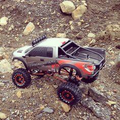 drekas RC Crawlers 4x4 scale trucks - Ford Raptor 1/8
