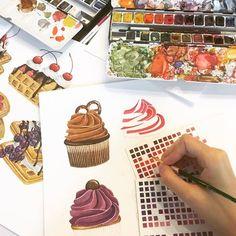 วาดให้...ทุกความรู้สึกดีๆที่คุณอยากมอบให้ใครสักคน  ^ ^ Cupcakes 💓 for Namwanpastel x Upvel tutor art&design  กิจกรรมของคนรักสีน้ำ  .Workshop watercolor Pantone..Color is life. Live it!! #2 By Namwanpastel x UPVEL  *** กิจกรรมสนุกๆของผู้ที่ชอบสีน้ำค๊าาา ^ ^  >>> เปิดรับลงทะเบียนเพิ่ม 2ท่านค๊าา  **** กิจกรรมวันเสาร์ที่ 24 ธันวาคมนี้ เวลา 13.00 - 17.00 น.  ลงทะเบียนเรียนได้ทาง inbox เลย ค๊าา    ตามไปติดตามผลงานตามลิ้งค์นี้ค๊า>>>https://www.facebook.com/Namwanpastel-494858864024159/?fref=ts…