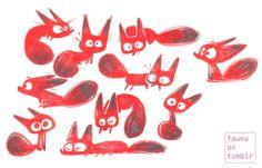 Je aime dessiner des animaux Derpy.