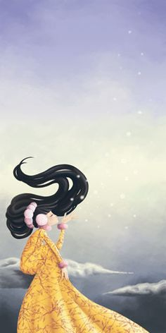 (Miss Wind), when I saw this I thought I saw her head as a jellyfish