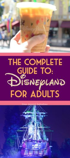 Disneyland is no longer just for kids! Here's a complete planning guide for visi… Disneyland is no longer just for kids! Here's a complete planning guide for visiting Disneyland as an adult. Grown ups can have tons of fun too! Disneyland Paris, Disneyland Honeymoon, Disneyland Birthday, Disneyland Secrets, Disneyland Resort, Disneyland Christmas, Disneyland Anniversary, Disneyland Outfits, Disneyland Food