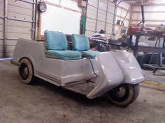 pargo golf cart late 1960 s one of a kind estate vintage car maniax and the future harley davidson 3 wheel golf cart