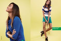 United Colors of Benetton S/S 2015: Joan Smalls by Cass Bird