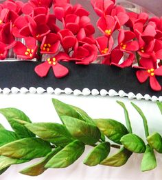 Sugar detail from the King of Tonga birthday cakes 2014. https://www.facebook.com/pages/Strawberry-Sky-Cakes/155937597766548