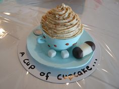 A cup of cupcake Cupcakes, Desserts, Food, Tailgate Desserts, Cupcake Cakes, Deserts, Essen, Postres, Meals