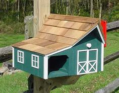 unusual mailboxes - barn