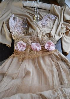 roses on a dress = love