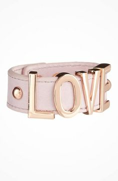 BCBGeneration Big Pastel Affirmation Bracelet #accessories  #jewelry  #bracelets  https://www.heeyy.com/bcbgeneration-big-pastel-affirmation-bracelet-rose-gold-freesia-love/