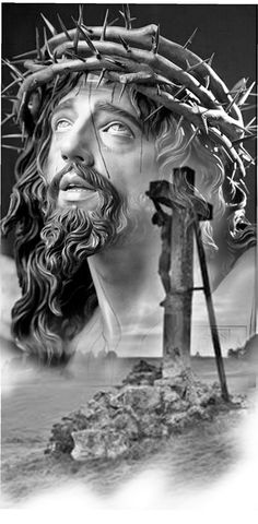 Jesus Christ Painting, Jesus Art, God Jesus, Pictures Of Jesus Christ, Names Of Jesus, Christus Tattoo, Mago Tattoo, Aesthetic Usernames, Jesus Drawings