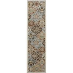 This ornamental ogee patterned reflects the beautiful elegance of its traditional inspiration. Available at Rug & Home!