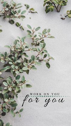 Neue Wallpaper für März! WORK ON YOU - FOR YOU! Work On Yourself, Blog, Wallpaper, Plants, Wallpapers, Blogging, Plant, Planets