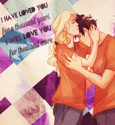 A Thousand Years by Christina Perri–r… Percabeth, Percy Jackson, Annabeth Chase. Annabeth Chase, Percy And Annabeth, A Thousand Years, I Love Books, Good Books, Books To Read, Christina Perri, Percy Jackson Books, Percy Jackson Fandom