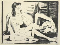 Pablo Picasso Spanish, 1881-1973 The Sleeping Woman, March 23, 1947