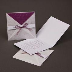 Invitación de boda elegantes