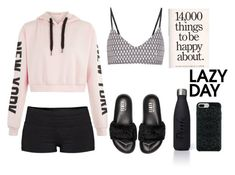 """Untitled #39"" by amalilly619 ❤ liked on Polyvore featuring TNA, The Upside, Puma and Victoria's Secret"