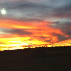 I love Arkansas Sunsets