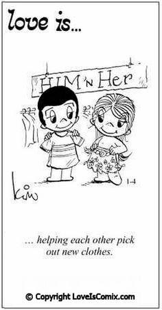 Love is... Comic for Fri, Apr 01, 2011