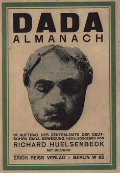Cover of Dada Almanach (1920)