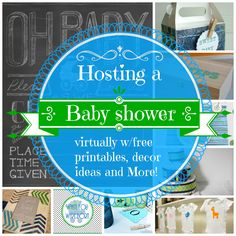 Hosting a baby shower, with free printables, gift ideas and more creative ideas.