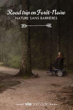 M'aurait-on dit que je pourrais, un jour, randonner avec mon amie Audrey? Audrey et son vaillant destrier à roulettes (130 kilos, l'animal!) à mes côtés, sur les sentiers forestiers, sur les cimes des collines? #accessibilité #handicap #roadtrip