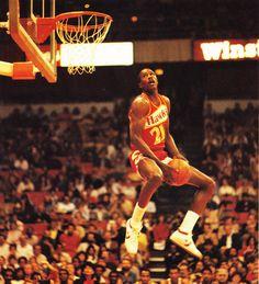 Dominique reverse dunk