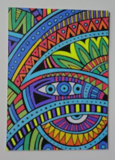 Coloriage art thérapie : ATC
