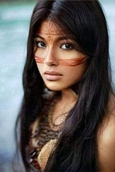 Native Girls, Native American Images, Native Style, People Of The World, First Nations, American Indians, Beautiful People, Culture, Long Hair Styles