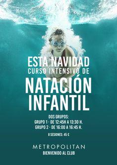 Curso intensivo de natación en Metropolitan Torrelavega.