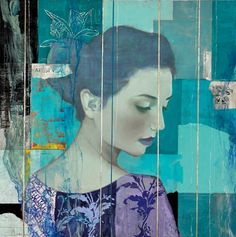 Introducing Twenty-First Century Cool, a provocative series of original new mixed media and oil on canvas works by Martin Lawrence Galleries artist, François Fressinier. While staying true to the artist's favorite subject matter-the ethereal romantic presence of sensuous women- this collection is a departure for Fressinier stylistically. It is a much edgier take on female beauty- the artist combining his admiration and training for the Old Masters with modern techniques influenced by…