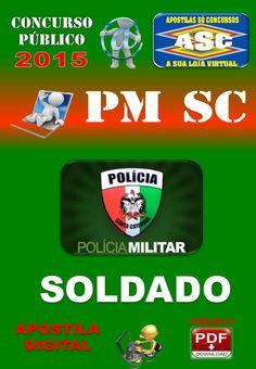 Apostila PM SC Soldado PM Concurso 2015