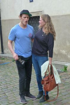 jamesandclairefraser:  Two new pictures of Sam in Prague - September 12th