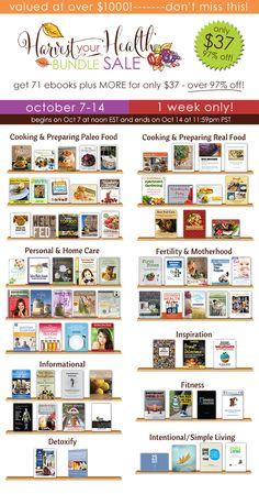Harvest-Your-Health-Library-of-eBooks_600_2columns
