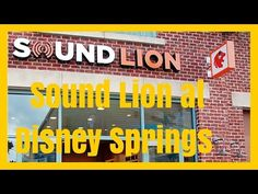 Visit Sound Lion at Disney Springs for the Best Headphones