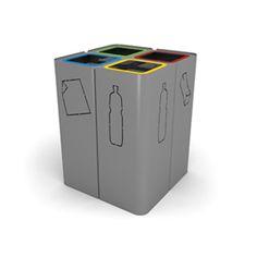 MINILLERO Recycling Bin by CitySí for Jane Hamley Wells - Litter Bins - Jane Hamley Wells