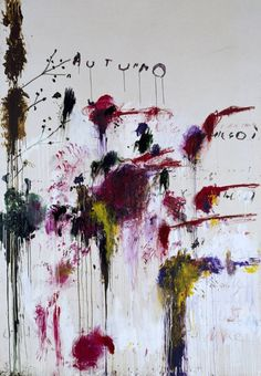 cy twombly. Favourite things!